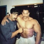 Samir Bannout o Phil Williams 1983 på Baltic Club Gym Malmö