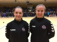 Daniela Lundholm och Moa Thunwall