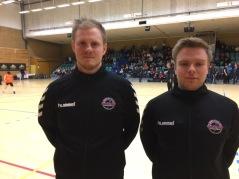 Adam Nilsson och Samuel Kähler