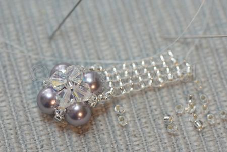 brodera med pärlor