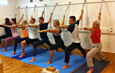 Yogaklass på ganesha.se