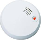 Trådlöst sammankopplingsbar optisk brandvarnare med pausfunktion.