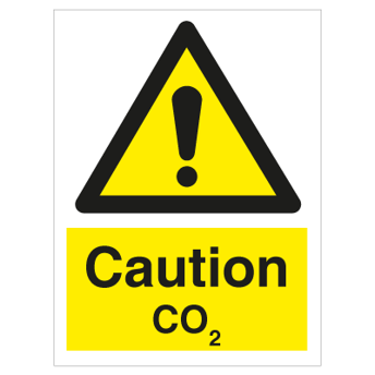Caution Co2 - Photoluminescent self adhesive vinyl