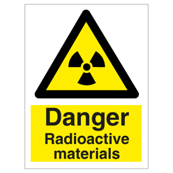 Danger Radioactive Materials