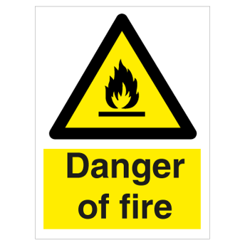 Danger of fire