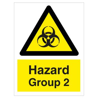 Hazard Group 2 - Photoluminescent Self Adhesive Vinyl