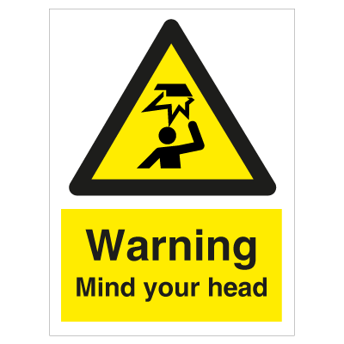 Mind your head - Photoluminescent Self Adhesive Vinyl