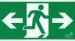 Pictogram höger - vänster