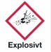 Explosivt