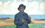 Kåsebergamålning av Johan Johansson