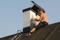 Fotografen på taket (Victoria höll i kameran)