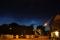 Nattlysande moln på julihimlen