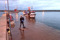 Översvämning i hamnen