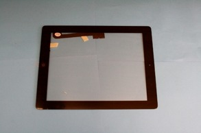IPAD 3 Glas,Digitizer Svart - Ipad 3