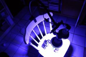 FLEXIBEL ARMATUR AKVARIE/VÄXTBELYSNING - Armatur 1x Lamphållare (utan lampa)