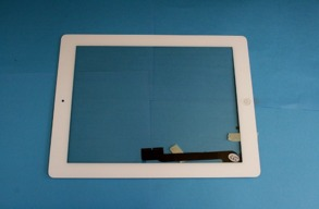 IPAD 3 Glas,Digitizer Vit - Ipad 3