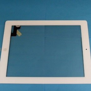 IPAD 2 Glas,Digitizer Vit - Ipad 2