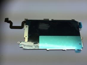 BAKSTYCKE METALL IPHONE 6+ KOMPLETT - Bakstycke metall komplett iPhone 6+