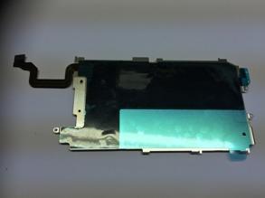 BAKSTYCKE METALL IPHONE 6 KOMPLETT - Bakstycke metall iPhone 6 Komplett