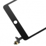 iPad Mini 3 Digitizer med ic, Svart