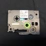 Märkband Kompatibel Till Brother P-Touch 12mm x 8m Svart på vitt