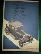 Vad ni bör veta om den Nya Ford Vagnen