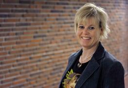 Ann-Cathrine Jungar. Kuva: Södertörns högskola.