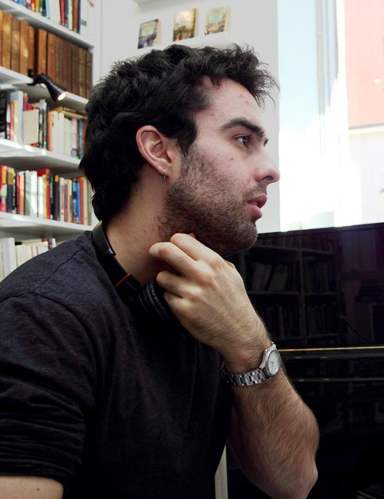 Jose A. Cañada trivs i Finland och hoppas på att kunna stanna i landet. Foto: privat.