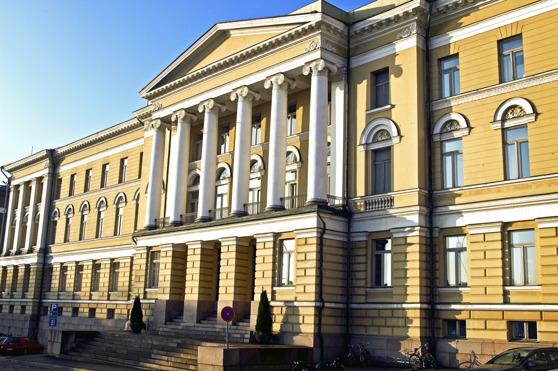 Helsingfors universitets huvudbyggnad. Foto: Ari Aalto.