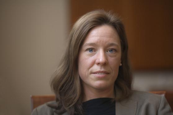 Professori Åsa von Schoultz. Kuva: Janne Rentola.