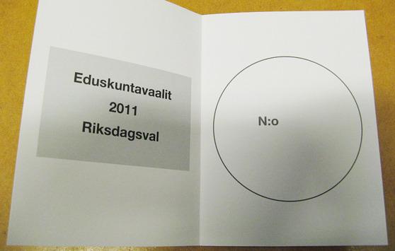 Vuonna 2011 vaaleissa tapahtui muutos, kun Perussuomalaiset saivat aikaisempaa paljon korkeammat kannatusluvut.