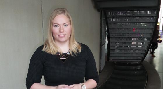 Annina Eloranta har varit med i en forskargrupp som forskat om livetweets under valdebatter.