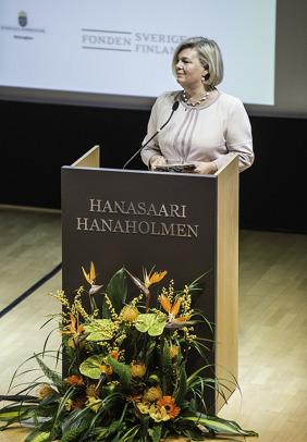 Hanaholmens vd Gunvor Kronman.