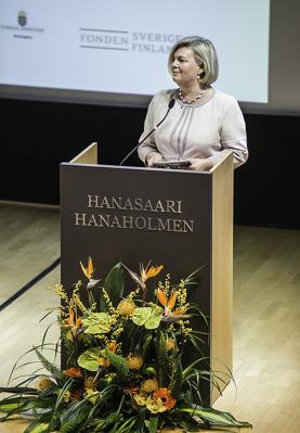 Hanasaaren toimitusjohtaja Gunvor Kronman.