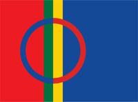 Saamen lippu. Kuva: Norden.org