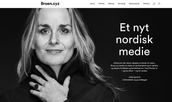 Kuvakaappaus Broen.xyz-sivustolta.