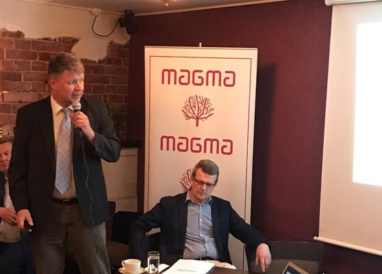Sami Borg & Kjell Herberts. Foto: Tankesmedjan Magma.