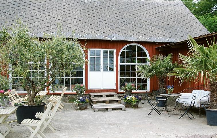 Bäckdalens Handelsträdgård.