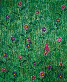 Blomsterälvorna  50 x60 cm  2 300 kr
