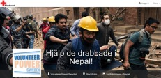 Hjälp de drabbade i Nepal!