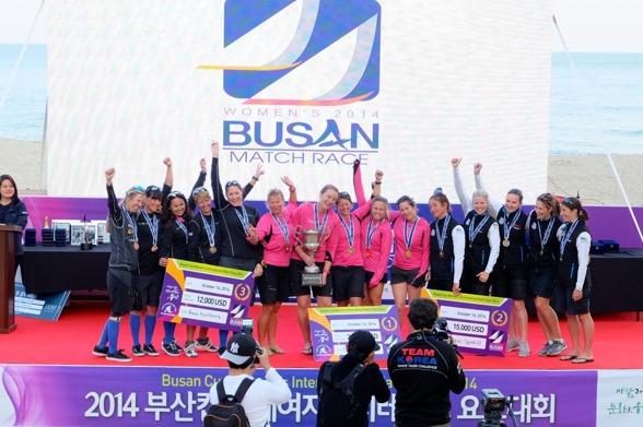 Prisutdelning Korea. Team Anna vann brons!