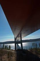 Högakustenbron, fast underifrån Ann-Charlotte Pedersson