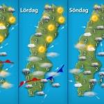 väder prognos