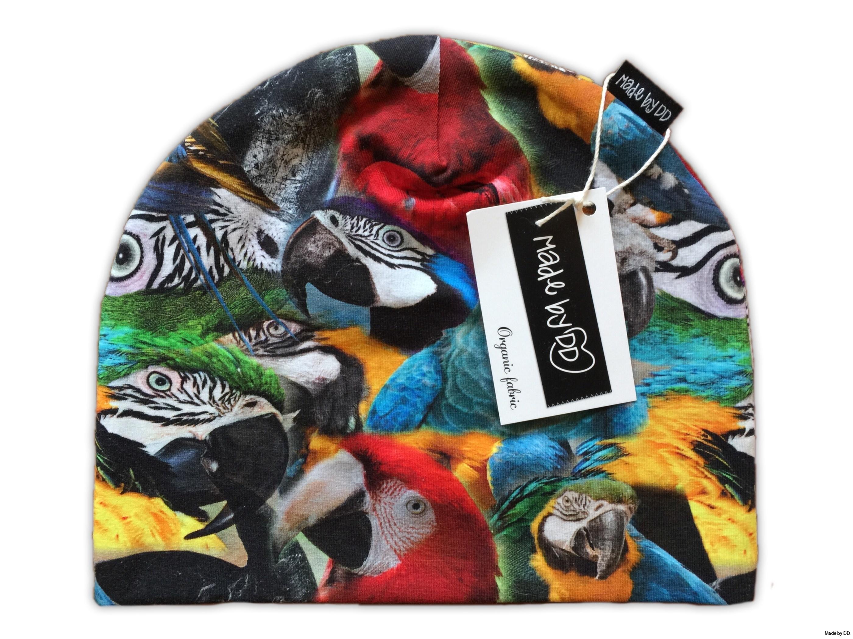 Mössa made by dd parrots GOTS