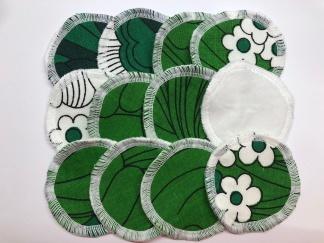 Rengöringspads återbruk 6-pack eller 12-pack - Rengöringspads återbruk 12-pack