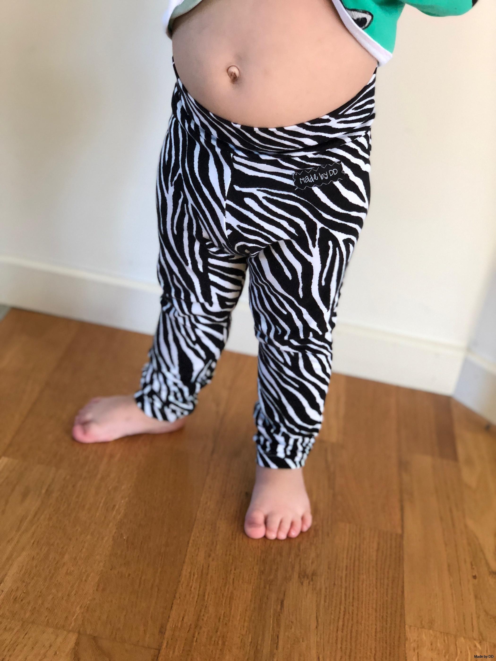 Leggings made by dd mudd eko zebra