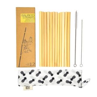 Bambu sugrör från Bali Boo - Bali Boo bambu straws 12-pack