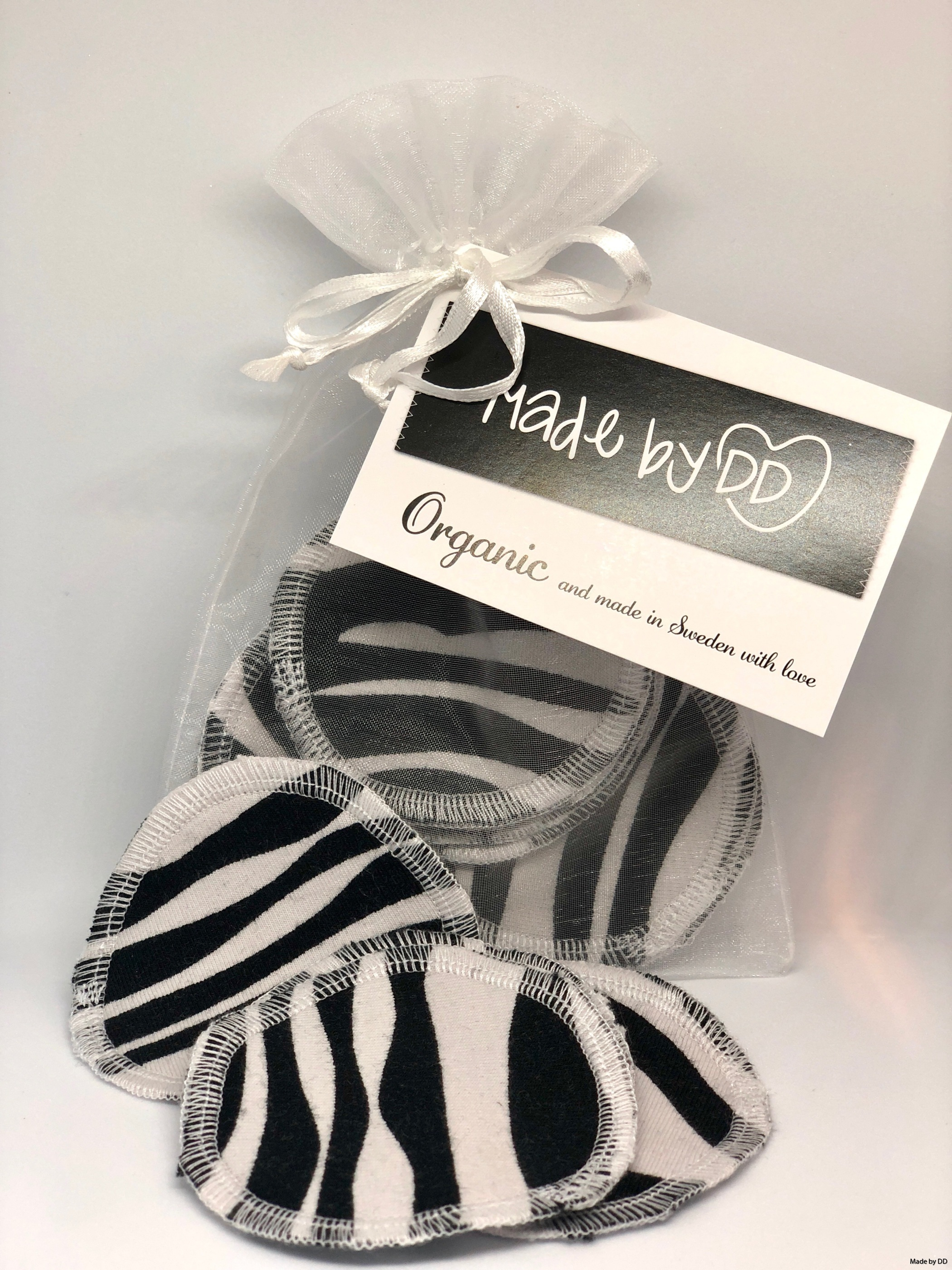 Rengöringspads Made by DD eko hållbart zebra