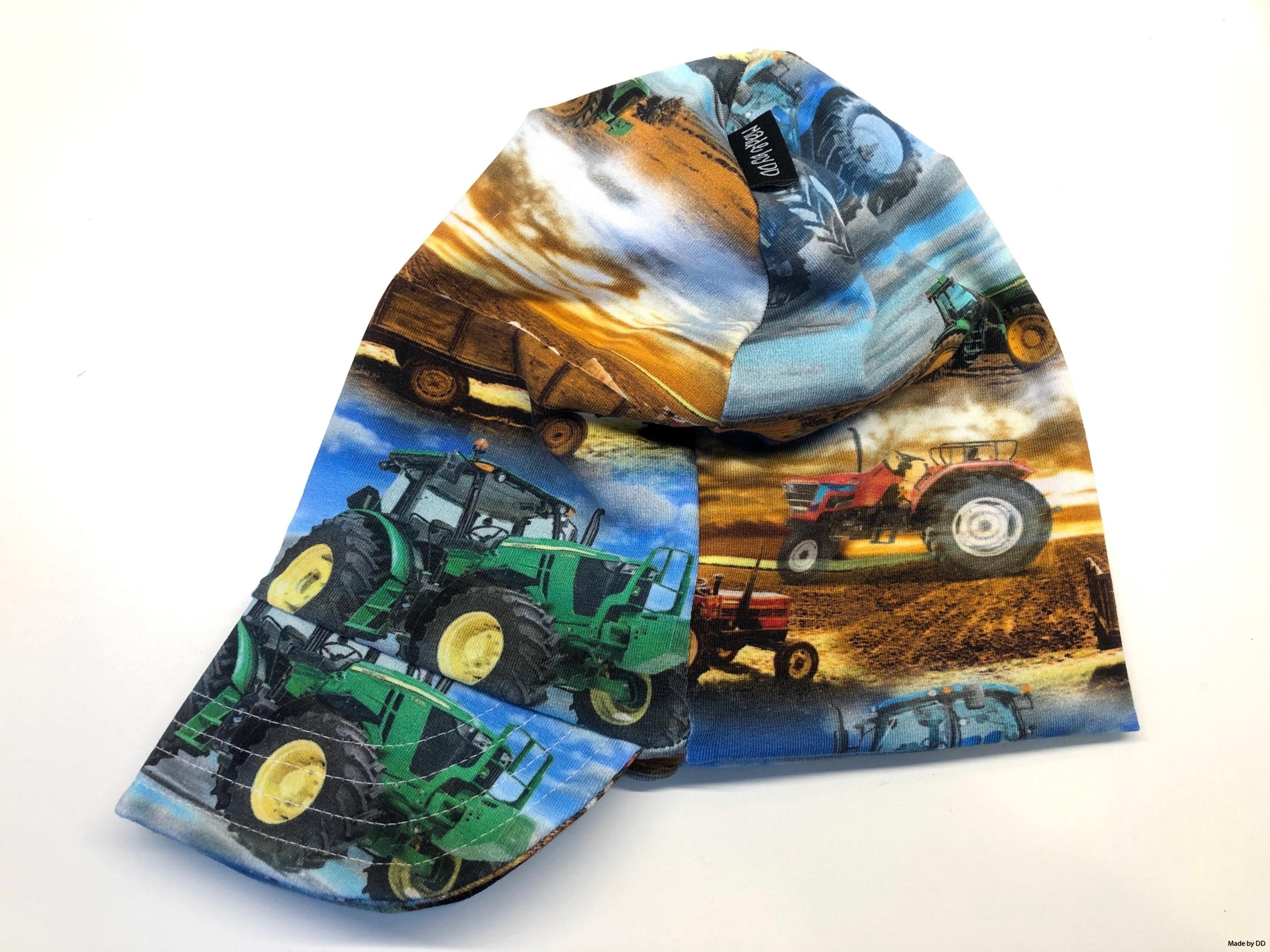 Meps kepsmössa traktor Made by DD ekologiska kläder barnkläder