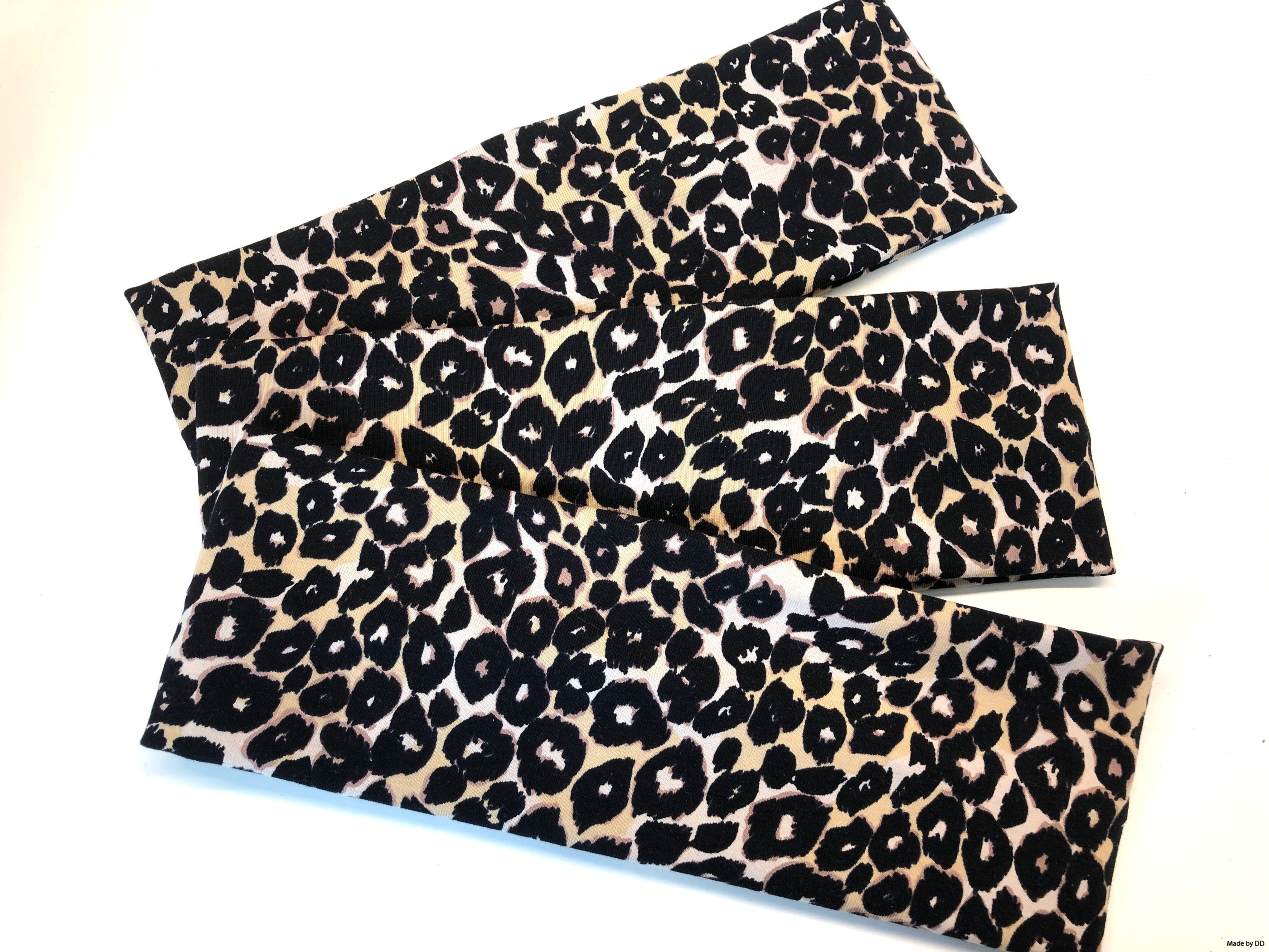 Pannband leopard eko GOTS MAde by DD